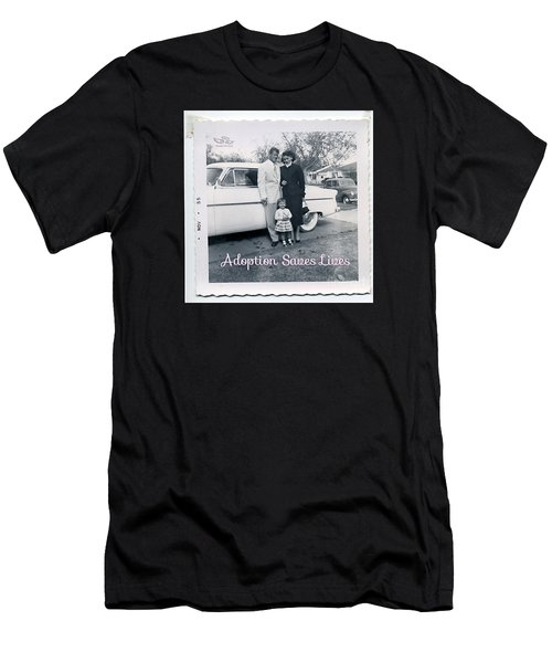 Men's T-Shirt (Athletic Fit) featuring the photograph Adoption Saves Lives by Beauty For God
