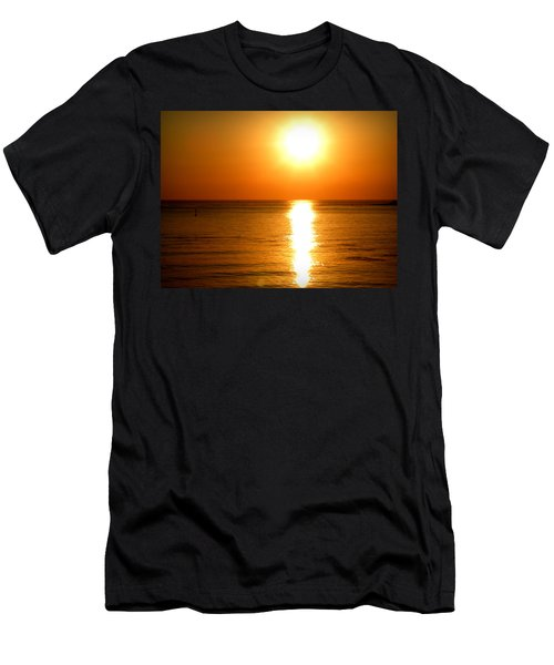 Aegean Sunset Men's T-Shirt (Athletic Fit)