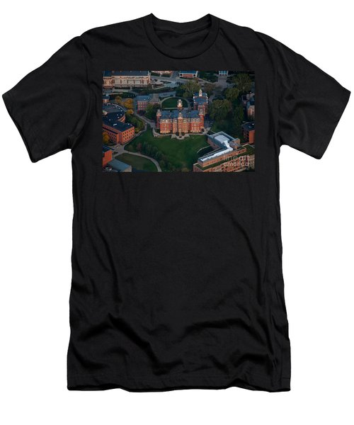Aerial Of Woodburn Hall Men's T-Shirt (Athletic Fit)