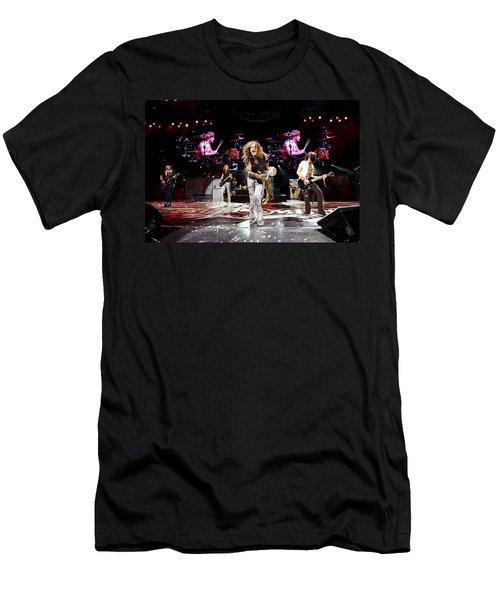 Aerosmith - Austin Texas 2012 Men's T-Shirt (Slim Fit) by Epic Rights