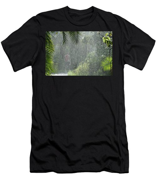African Rain Men's T-Shirt (Athletic Fit)