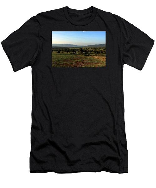 Men's T-Shirt (Athletic Fit) featuring the photograph African Savannah  by Aidan Moran