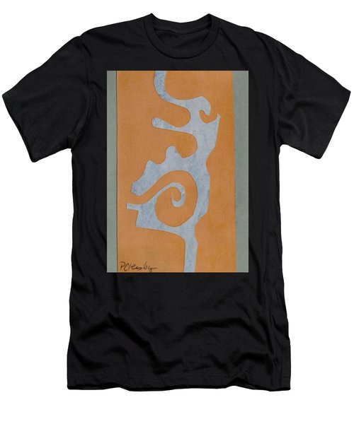 Swirl  Men's T-Shirt (Slim Fit) by Patricia Cleasby