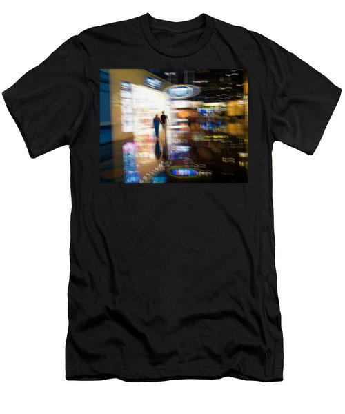 Men's T-Shirt (Slim Fit) featuring the photograph After The Show by Alex Lapidus