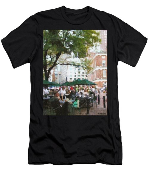 Afternoon At Faneuil Hall Men's T-Shirt (Athletic Fit)