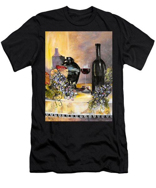 Bottles Of Time Men's T-Shirt (Athletic Fit)