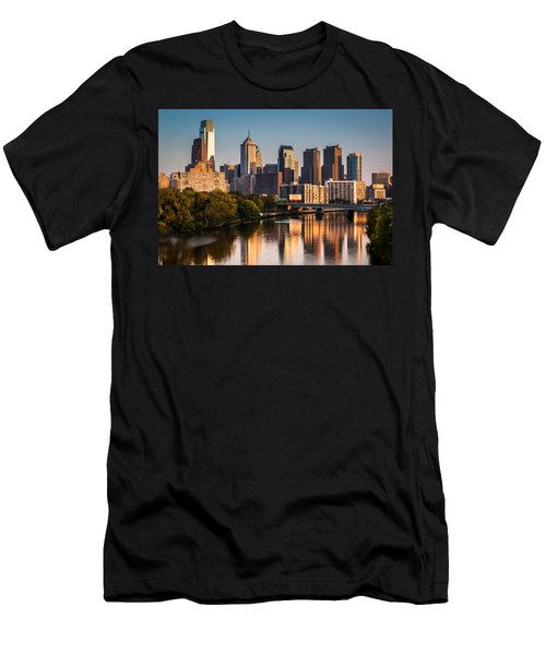 Afternoon In Philly Men's T-Shirt (Athletic Fit)