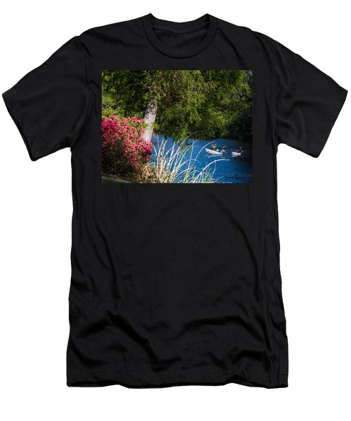 Afternoon Swim Men's T-Shirt (Athletic Fit)