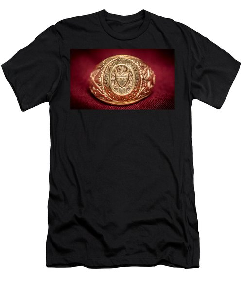 Aggie Ring Men's T-Shirt (Slim Fit) by David Morefield