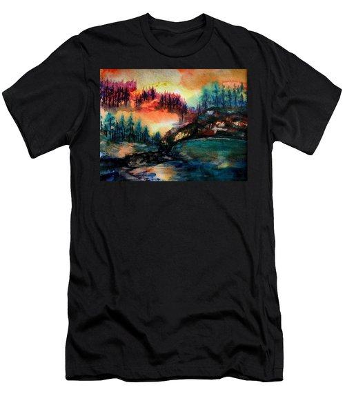 Aglow Men's T-Shirt (Athletic Fit)
