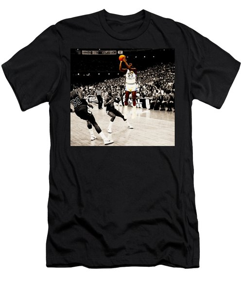 Air Jordan Unc Last Shot Men's T-Shirt (Athletic Fit)