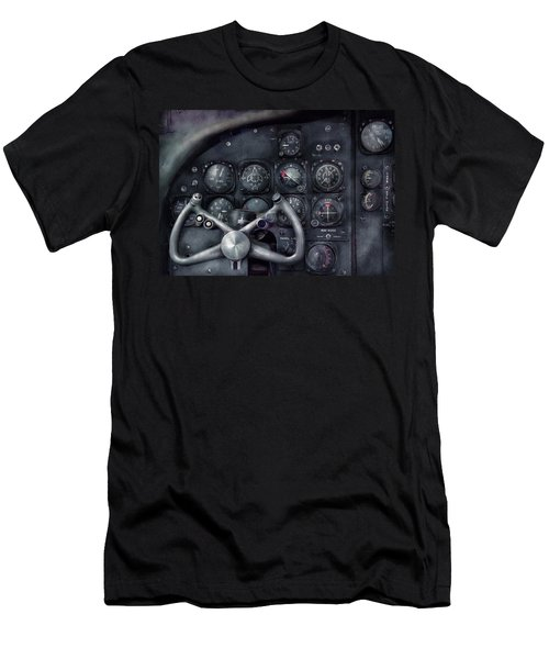 Air - The Cockpit Men's T-Shirt (Slim Fit) by Mike Savad