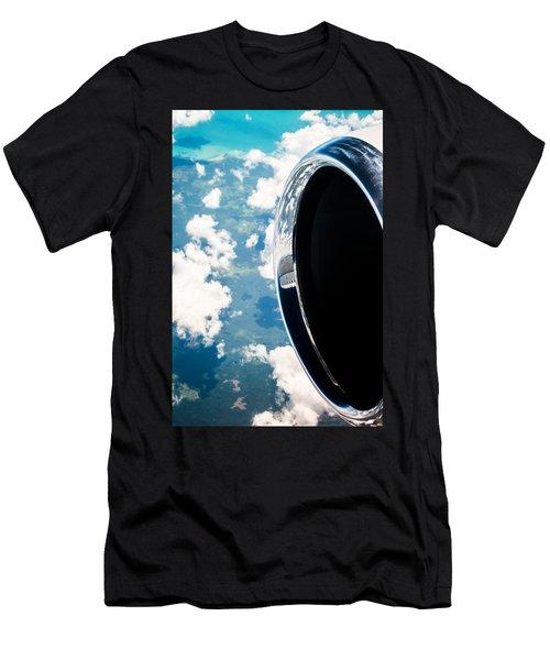 Tropical Skies Men's T-Shirt (Athletic Fit)