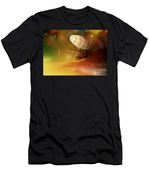 Airship Ethereal Journey Men's T-Shirt (Athletic Fit)
