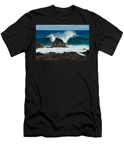 Akahanga Wave 2 Men's T-Shirt (Athletic Fit)