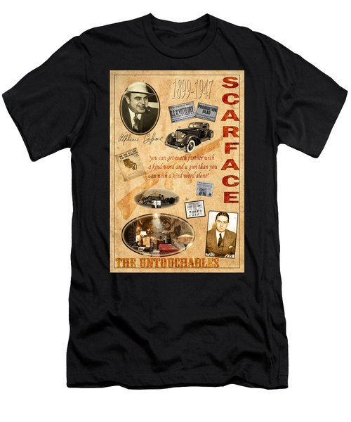 Al Capone Men's T-Shirt (Athletic Fit)
