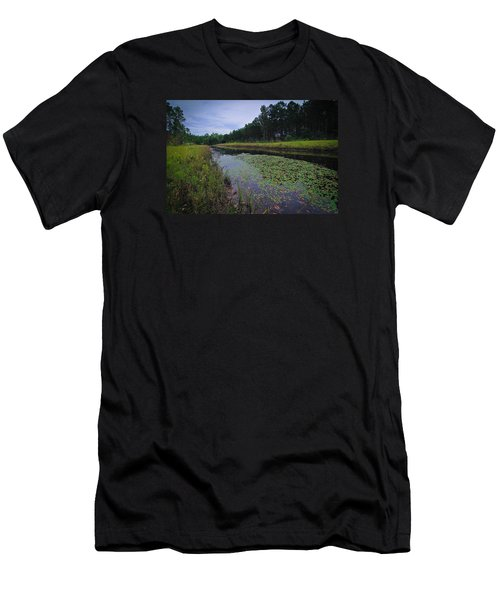 Alabama Country Men's T-Shirt (Slim Fit) by Julie Andel