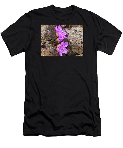 Alaskan Wildflower Men's T-Shirt (Athletic Fit)