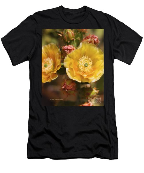 'albispina' Cactus #2 Men's T-Shirt (Athletic Fit)