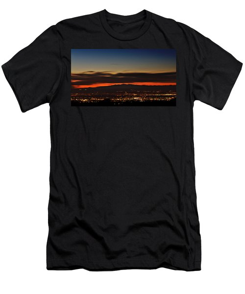 Albuquerque Sunset Men's T-Shirt (Athletic Fit)