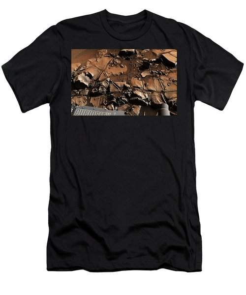 Alexander Hills Bedrock In Mars Men's T-Shirt (Athletic Fit)