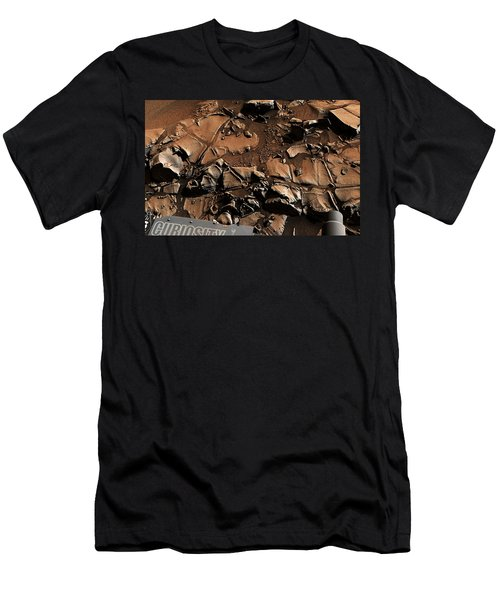 Alexander Hills Bedrock In Mars Men's T-Shirt (Athletic Fit)