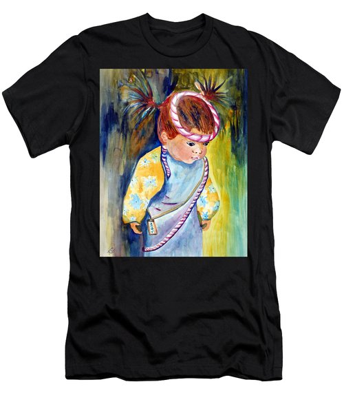Ali Learns To Bow Men's T-Shirt (Athletic Fit)
