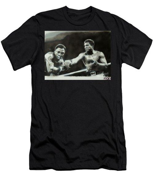 Ali Vs Frazier Men's T-Shirt (Athletic Fit)