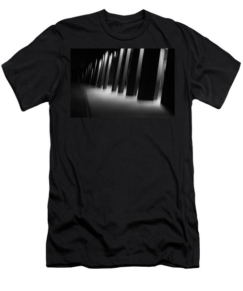 Men's T-Shirt (Slim Fit) featuring the photograph Alien Medical Research Center by Alex Lapidus