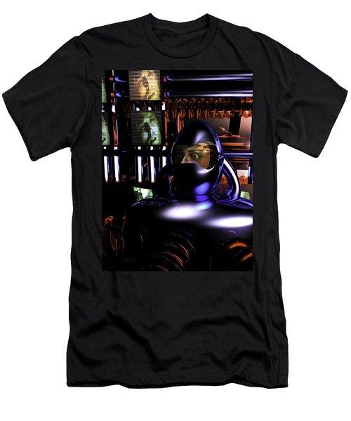 Alien Mind Control Men's T-Shirt (Slim Fit) by Bob Orsillo