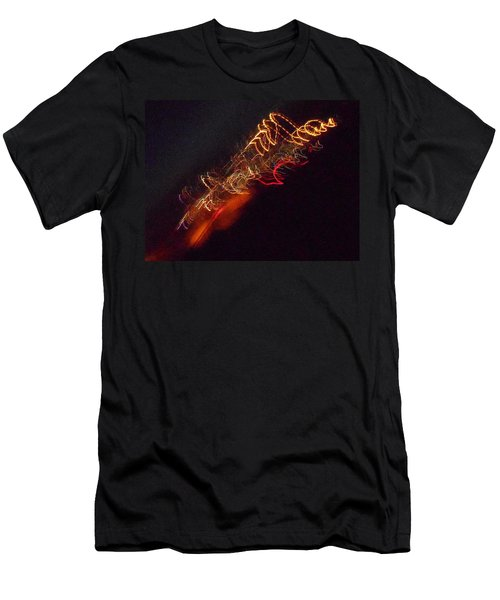 Alien Spacecraft Men's T-Shirt (Athletic Fit)