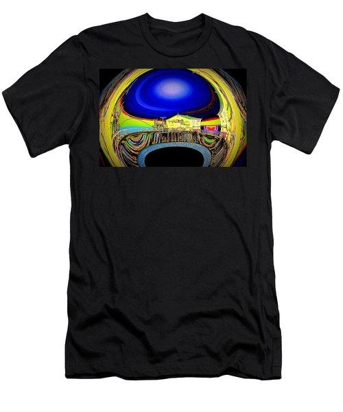 All Aboard  Men's T-Shirt (Slim Fit) by Nick David