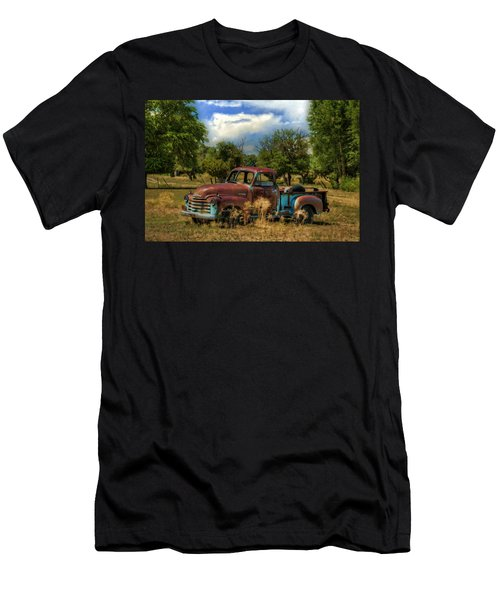All By Myself Men's T-Shirt (Slim Fit) by Ken Smith