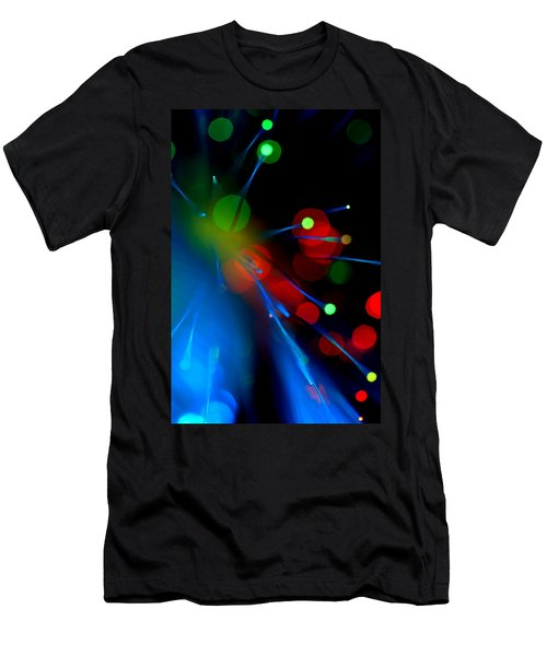 Men's T-Shirt (Slim Fit) featuring the photograph All Through The Night by Dazzle Zazz
