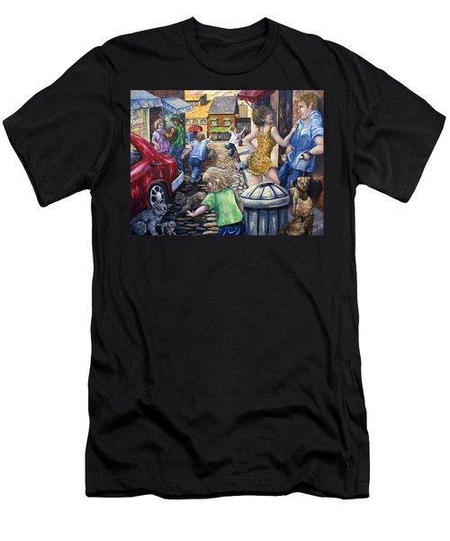 Alley Catz Men's T-Shirt (Athletic Fit)