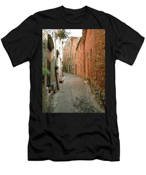 Alley In Tourrette-sur-loup Men's T-Shirt (Athletic Fit)