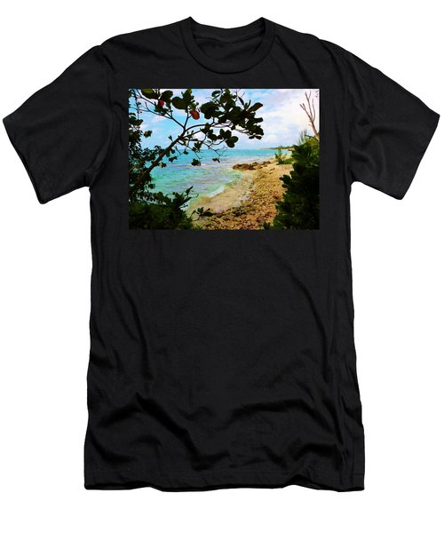 Men's T-Shirt (Slim Fit) featuring the photograph Almond View by Amar Sheow
