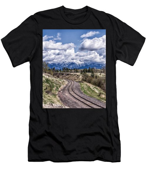 Almost Home Men's T-Shirt (Athletic Fit)