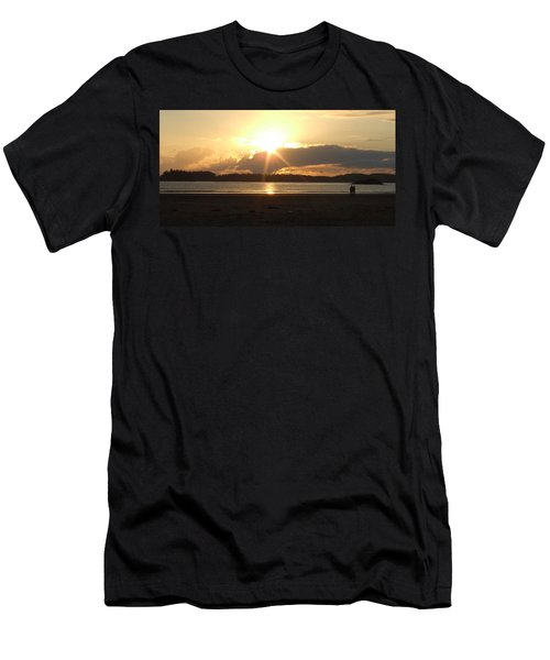 Almost Sundown Men's T-Shirt (Athletic Fit)