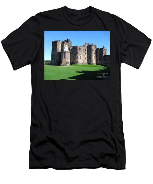 Men's T-Shirt (Slim Fit) featuring the photograph Alnwick Castle Castle Alnwick Northumberland by Paul Fearn