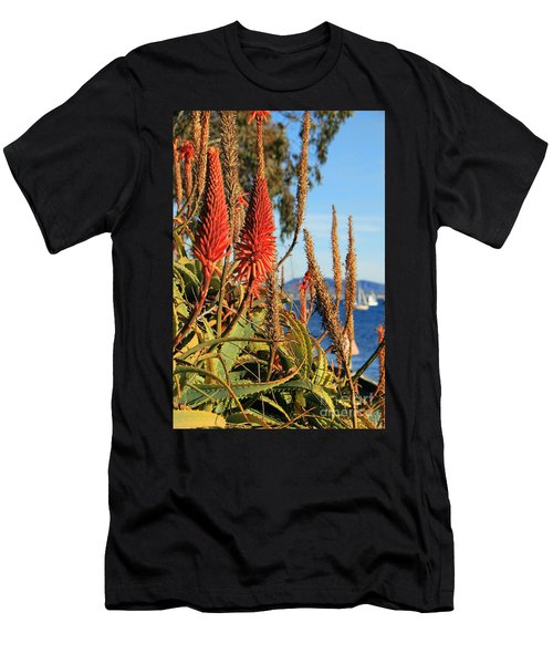 Aloe Vera Bloom Men's T-Shirt (Athletic Fit)