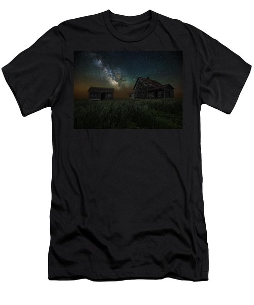 Alone In The Dark Men's T-Shirt (Athletic Fit)