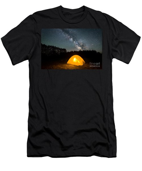 Alone Under The Stars Men's T-Shirt (Athletic Fit)