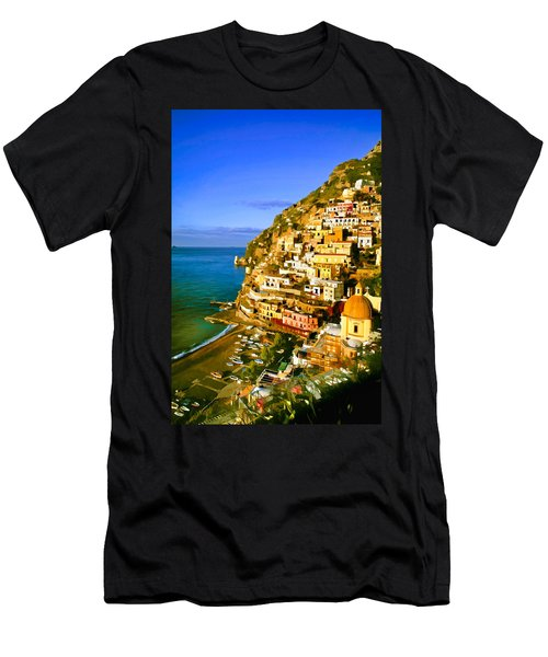 Along The Amalfi Coast Men's T-Shirt (Athletic Fit)