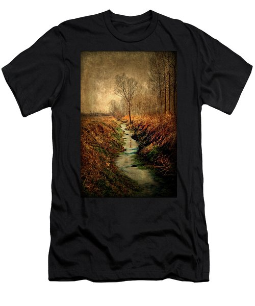 Along The Canal Men's T-Shirt (Athletic Fit)