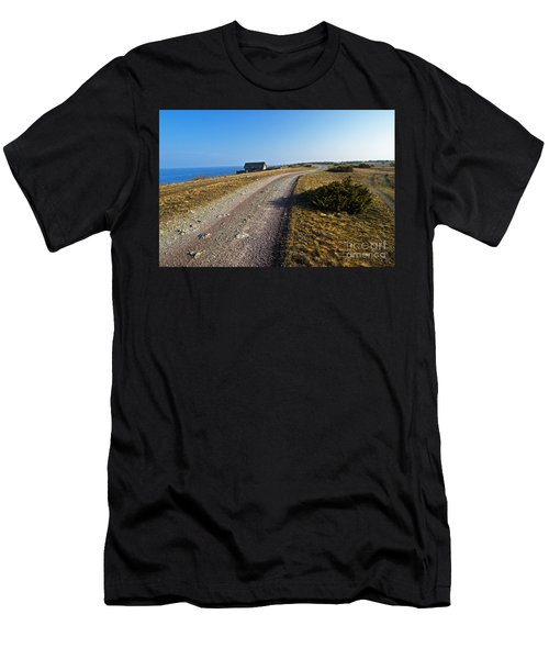 Along The Coast Of Baltic Sea Men's T-Shirt (Slim Fit) by Kennerth and Birgitta Kullman