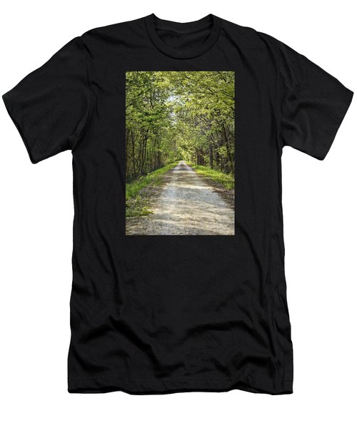 Along The Katy Trail Men's T-Shirt (Athletic Fit)