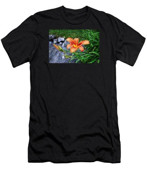 Along The Rocks Men's T-Shirt (Athletic Fit)