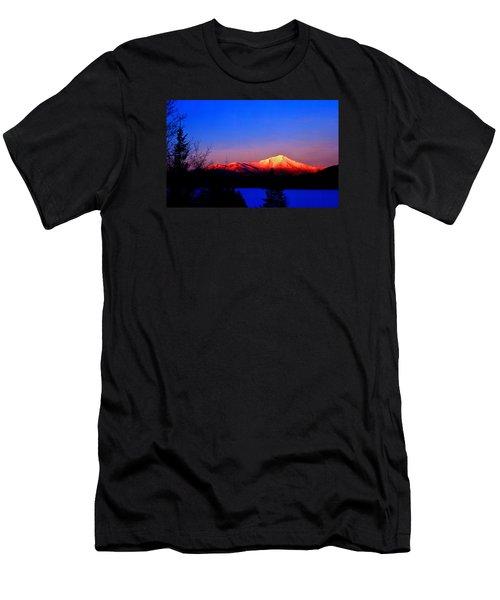 Alpenglow-whiteface Mt. Men's T-Shirt (Athletic Fit)