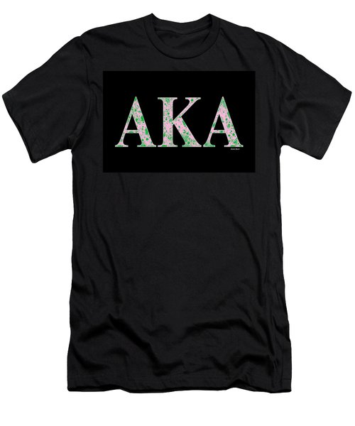 Alpha Kappa Alpha - Black Men's T-Shirt (Athletic Fit)